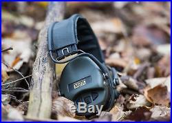 MSA Sordin Supreme Pro X Standard Edition Electronic Earmuff with black