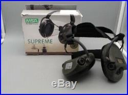 MSA Sordin Supreme Pro-X with Gel Earseals -PARTS ONLY READ DESCRIPTION PLEASE