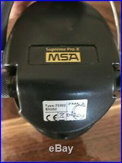 MSA Sordin Supreme Pro-X, with Gel Earseals Type 75302 CAMO Headband