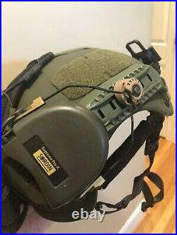 MSA Sordin Supreme Pro X with Unity Tactical ARC mounts (Helmet not included)