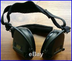 MSA Sordin Supreme Pro X with green cups Neckband Electronic Earmuff