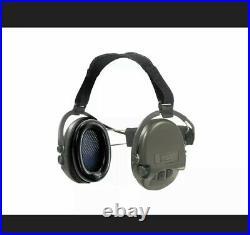 MSA Supreme PRO X Neckband Safety Ear Muffs Gel Ear Cups SNR 25dB Green NEW