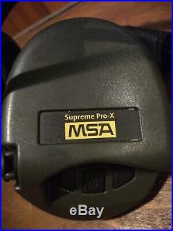 MSA Supreme Pro-X, Neckband Black Green cups