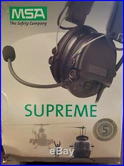 MSA Supreme Pro X Waterproof Ear Muff Camo Band
