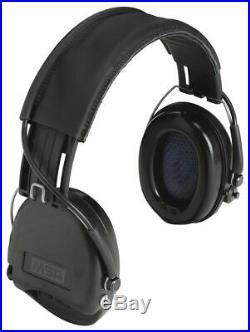 Msa Over-the-Head Electronic Ear Muffs, 19dB Noise Reduction Rating NRR