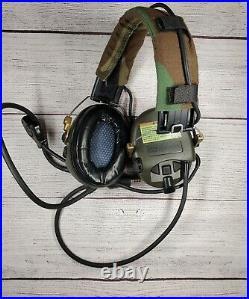 Msa Sordin Headset Dual comms withunity tactical rail adaptors
