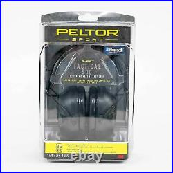 NEW Peltor TAC500-OTH Sport Tactical Smart Electronic Hearing Protector in Black