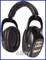 NEW Pro Ears GS-DSTL-B BLACK Stalker Gold NRR 25 Electronic Ear Muffs