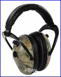 NEW Pro Ears GS-P300-NG NATURAL CAMO Predator Gold NRR 26 Electronic Ear Muffs
