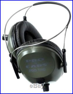 NEW Pro Ears GS-PT300-G-BH GREEN Tac Plus Gold NRR 26 Ear Muffs N Style