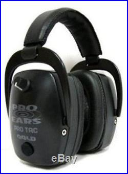 NEW Pro Ears GS-PTM-B BLACK Pro Tac Mag Gold NRR 30 Electronic Ear Muffs N Style