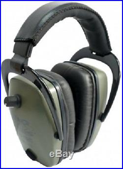 NEW Pro Ears GS-PTS-G GREEN Tac Slim Gold NRR 28 Electronic Ear Muffs N Style