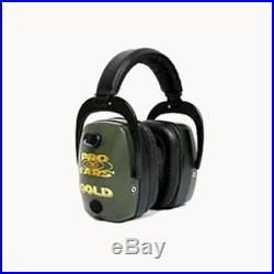 NEW Pro Ears Pro Mag Gold Series Ear Muffs Green Gs-dpm-g