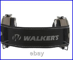 NEW-Walker's Razor Slim Electronic Muff (with Patriot Patch)