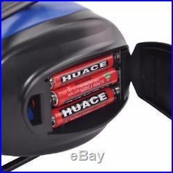 NRR 25dB Hearing Protector AM/FM Radio Earmuffs Electronic Protection Bluetooth