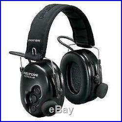 New 3m Peltor Tactical Pro Electronic Ear Muffs (NRR 26)