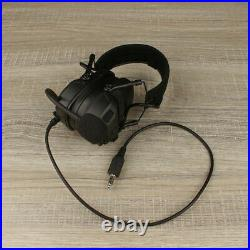 New FCS FMA AMP Dual-Channel Pickup Noise ReductionTactical Headset PPT Set