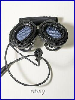 New MSA Sordin Supreme Pro 76319 Neck Band + Mic, Water Proof, OD Green