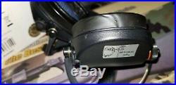 New MSA Sordin Supreme Pro-X Black Neckband with Gel Ear Cup Seals Peltor ComTac 3