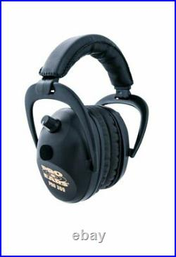 New ProEars 300 Electronic Hearing Protection and Amplification Black Ear Muffs