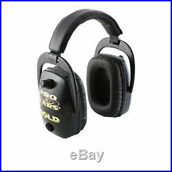 New ProEars GSDPSB Slim Gold Hearing Protection and Amplification in black