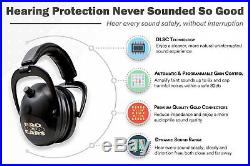 New ProEars Gold II26 PEG2SMP Electronic Hearing Protection and Shooting Earmuff