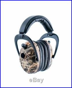 New ProEars Pro 300 Electronic Hearing Protection and NRR 26 EarMuffs Max 4 Camo