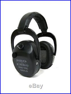 New ProEars Tac SC Gold Military Grade Hearing Protection and NRR25 EarMuffs
