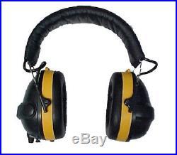 NoiseBuster PA4000 ANR Electronic Noise Canceling Safety Earmuff Headset