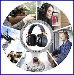 Noise Cancelling Ear Muffs Shooting Range Hearing Protection Construction Sports