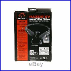 OPEN BOX Walker's Game Ear Razor Behind The Neck Hearing Protection Ear Buds