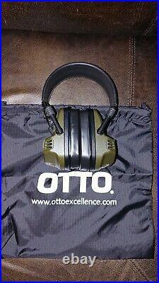 OTTO Noizebarrier Range SA Electronic Earpro Headset, OD Green