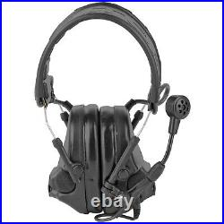 PELTOR Comtac VI NIB Foldable Dynamic Boom Mic Headset Earmuffs Swattac