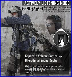 PROHEAR 030BT Electronic Safety Earmuffs for Shooting, Adult Ear Defenders for