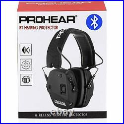 PROHEAR 030 Bluetooth 5.0 Electronic Shooting Ear Protection Earmuffs, Noise Red