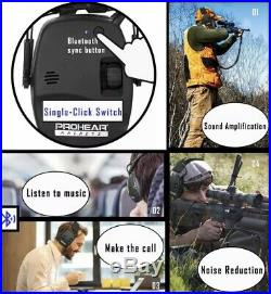PROHEAR 030 Electronic Shooting Ear Protection Muffs with Bluetooth c33580