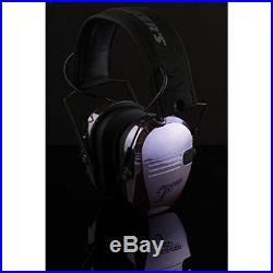 Pack'N Earmuffs Heat Chrome Plated Electronic Eyes & Ears Set 23NRR Light