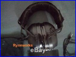 Peltor 3M Sport Tactical 500 26db (NRR) Electronic Ear Muffs With Upgrades Used