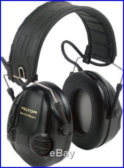 Peltor 3M Tactical Sport Black/Orange Shooting Ear Muffs