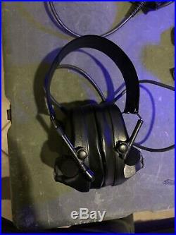 Peltor ComTac III Hearing Defender Ear Muffs Brown, Non Com MT17H682FB-09 CY Geo