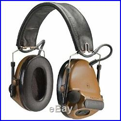 Peltor ComTac III Hearing Defender Electronic EarmuffsNRR 20