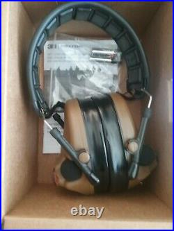 Peltor Comtac III Coyote Hearing Defender Ear Protection MT17H682FB-09CY