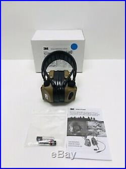 Peltor Comtac III Defender Hearing Protection Coyote 20dB Noise Reduction