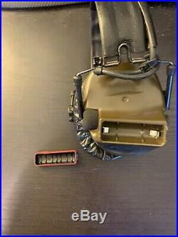 Peltor Comtac iii Hearing Defender Electronic Earmuffs Green