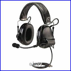 Peltor MT17H682FB-47 SV SWAT-TAC III ACH Single Comm Headset, Black