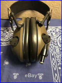 Peltor Military Earmuff Electronic Shooting Hearing Protection Comtac MSA Lbt