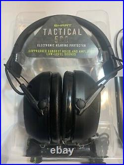 Peltor Smart Tactical 500 Electronic Hearing Protector with Bluetooth (5704)