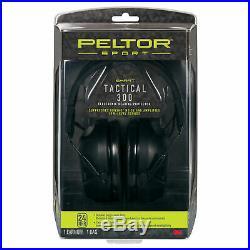 Peltor Sport Tactical 300 Digital Hearing Protection Black 24 dB NRR