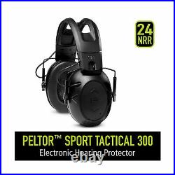 Peltor Sport Tactical 300 Smart Electronic Hearing Protector, Ear Protection