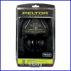 Peltor Sport Tactical 500 Digital Ear Protection Black 26 dB NRR